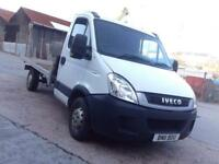 2011 Automatic Iveco Daily 35s11 Flatbed Lorry PX welcome