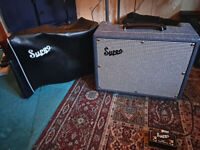Supro Tremo Verb 25W Valve Amp with Reverb and Tremolo