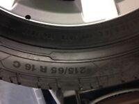 VW Transporter Alloys/Tyres Brand New