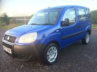 FIAT DOBLO 1.3 DIESEL DISABLED WHEELCHAIR MOBILITY SCOOTER WAV 66K FSH 6 STAMPS LONG MOT PX WELCOME