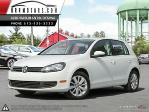 2013 Volkswagen Golf COMFORTLINE 4-Door