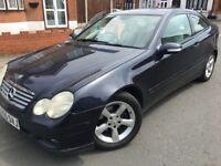 Mercedes C220 Cdi Se Auto Blue Diesel,MOT 24/09/18,HPI Clear,Service History,Excellent Runner £1895