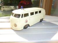 Blechspielzeug VW-Bus Ambulanz ca. 60iger Jahre von COK Bayern - Polling Vorschau