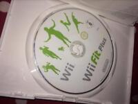 Wii game 'Wii fit plus'