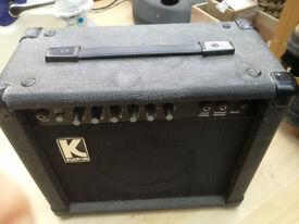 Guitar amplifier - Kustom KLA20, 20 watt