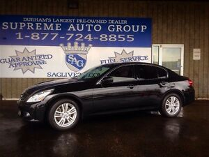 2012 Infiniti G37X AWD! Navigation! & Sunroof Bluetooth