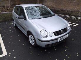 Volkswagen POLO, Full MOTO, Full Service History, 2003, 53,369 miles, Manual, 1.2L, 3 doors, Silver