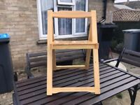 4 Fold away Chairs