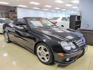 2008 Mercedes-Benz CLK-Class CONVERTIBLE|LEATHER|B-U-SENSOR|XEON