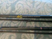 Middy xflex 11' Waggler main 12lb hook 8lb. + Middy 4g supplex 10' feeder m/L 10lb h/l 6lb