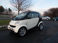 MERCEDES SMART CITY PULSE SEMI AUTOMATIC CREAM/BLACK ONLY 74K MILES BARGAIN 1250 *LOOK*PX/DELIVERY
