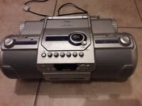 Goodman CD Player with Radio and Cassette functions.