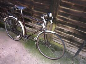Vintage Humber Beeston sports in original condition.