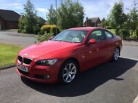 07 BMW 320D SE COUPE LEATHER FSH P/EX WELCOME