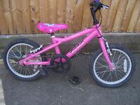 Disney Princess Jessie bike approx age 5 to 7 years.