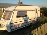 Compass Rally GTE 2 Berth Touring Caravan & Extras. Minor Damaged, Salvage, Spares & repairs P/X WEL