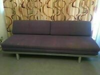 Futon Company Sofa Bed 3 Seat Top Quality Muji Sofabed with Removable Covers.Cost £750 (Can Deliver)