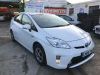 2016 TOYOTA PRIUS HYBRID T3 CVT AUTOMATIC 45300 MILES SOLD WITH PCO LICENCE FINANCE £286 PER MONTH