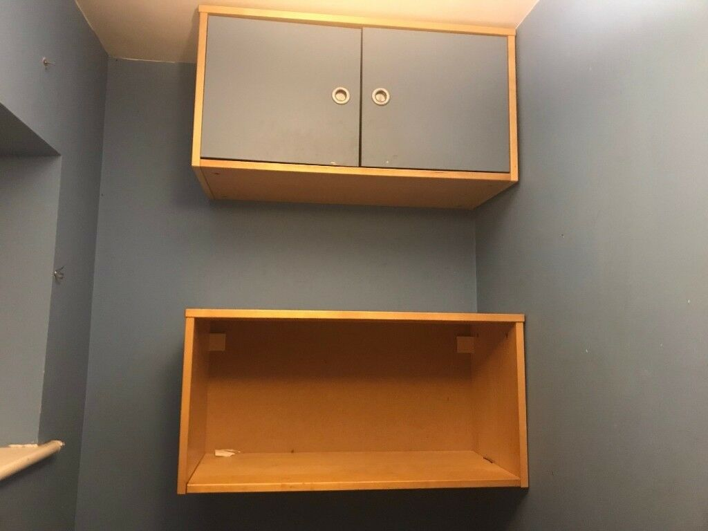 Ikea Wall Cupboards Ideal For Office Or Kids Bedroom