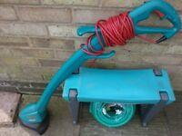 Garden tools (Trimmer, Garden hose and Garden kneeler)