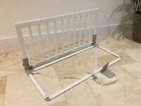 Baby Dan White wooden bed guard bars (John Lewis) Good condition
