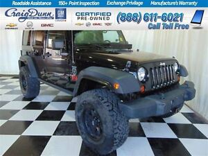 2011 Jeep WRANGLER UNLIMITED Rubicon * Black OPS Edition * Lifte