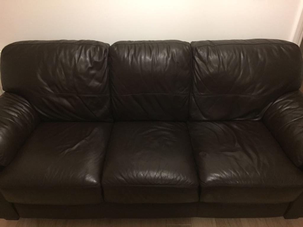 Genuine Leather Sofa Set In Chatham Kent Gumtree ~ Genuine Leather Sofa Sets