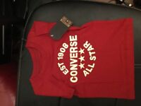 Converse tshirt - brand new - aged 1 years