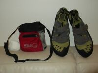 Climbing shoes adult size 10.5