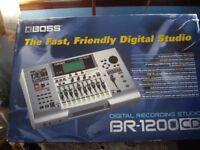 Boss BR - 1200 CD Digital Recording Studio