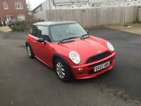 Stunning Mini Cooper 11 months mot ,just had waterpump,FIRST TO VIEW WILL BUY PX WELCOME