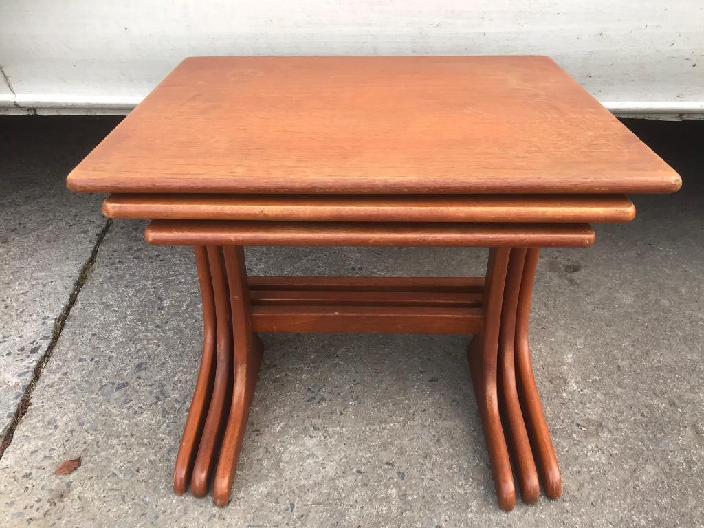 Retro nest 3 tables FREE DELIVERY PLYMOUTH AREA