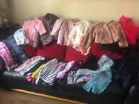 Young girls clothes bundle age 4-5 and 5-6 years