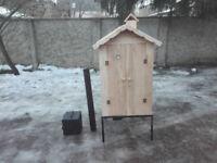 Wooden Smoker - Smokehouse - Garden BBQ