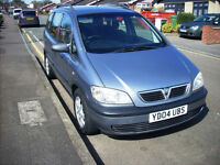 2004 VAUXHALL ZAFIRA LIFE 2.0 LTR DTI 7 SEATER CLEAN TIDY EXAMPLE ONLY 1 FORMER KEEPER