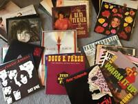 "Record Collection-approx 70 12"" singles-rock,pop,soul, rap - really good condition £25"