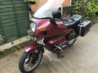 1987 E BMW R 80 RT TIC RED Touring Motorcycle 24K Miles + Panniers