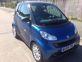 SMART FORTWO (2009) AUTOMATIC. £20 ROAD TAX YEAR.