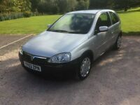 Vauxhall Corsa 1.4 i 16v Design 3dr AUTO, 138000 miles 2004 53 reg (6 Months MOT with no advisories)