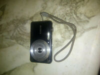 sony cyber shot camera with optical zoom.