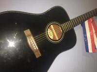 Fender Acoustic Guitar With Gig Bag