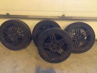 Mercedes 18inch amg alloy wheels 250ono