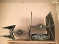 Star Wars figures, vehicles and some packaging for sale