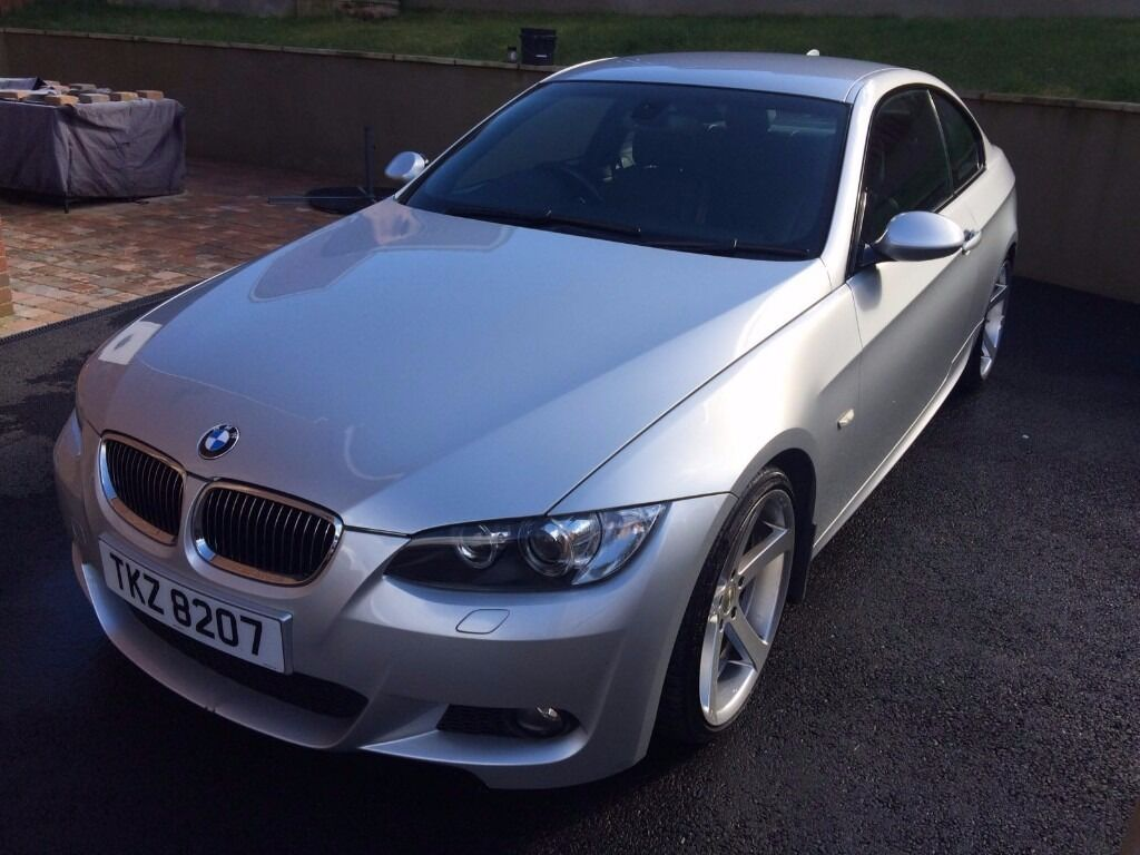 2007 bmw 3 series 335i silver coupe 3 0 twin turbo 306bhp. Black Bedroom Furniture Sets. Home Design Ideas