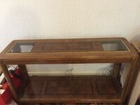 Fabulous console table, teak wood