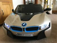 BMW I8 - 12v Ride On Kids Electric Car