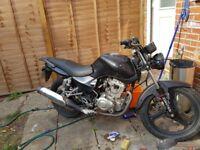 Zontes 125cc motorbike