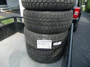4x Bridgestone Runflat 225/45/17