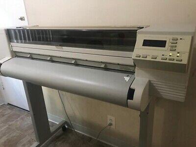 Plotter Printer Hp C2859a Designjet 650c Color