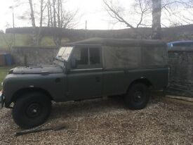 Landrover Series 3 LWB soft top